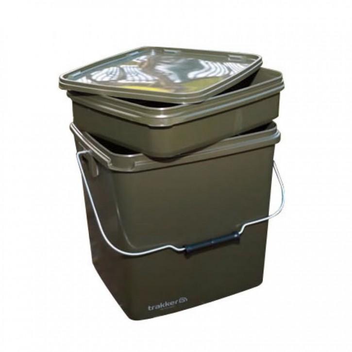 Trakker Olive Square Container - 13 Liter
