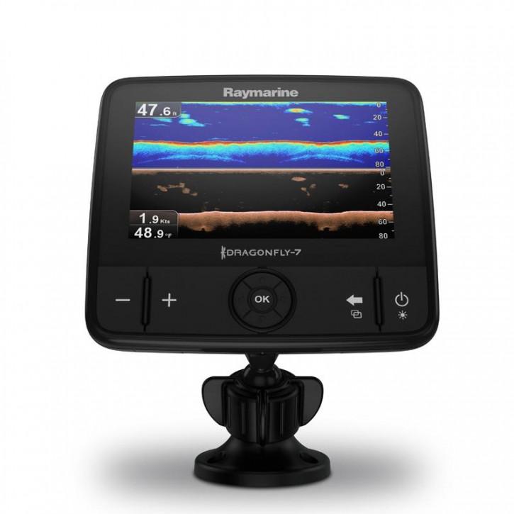 Raymarine Dragonfly 7 Pro mit Geber