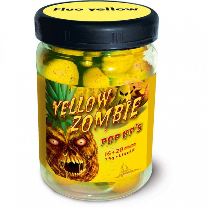 Quantum Radical Yellow Zombie Neon Pop Up