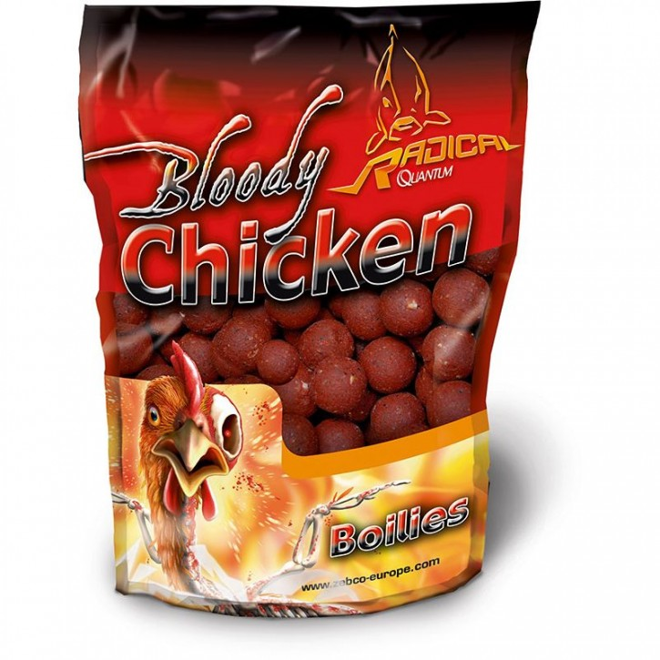Quantum Radical Bloody Chicken Boilie 1 kg - 16 mm