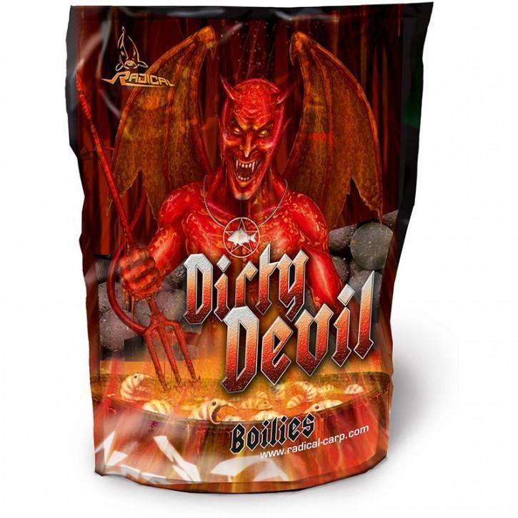 Quantum Radical Dirty Devil Boilie 1 kg - 16 mm