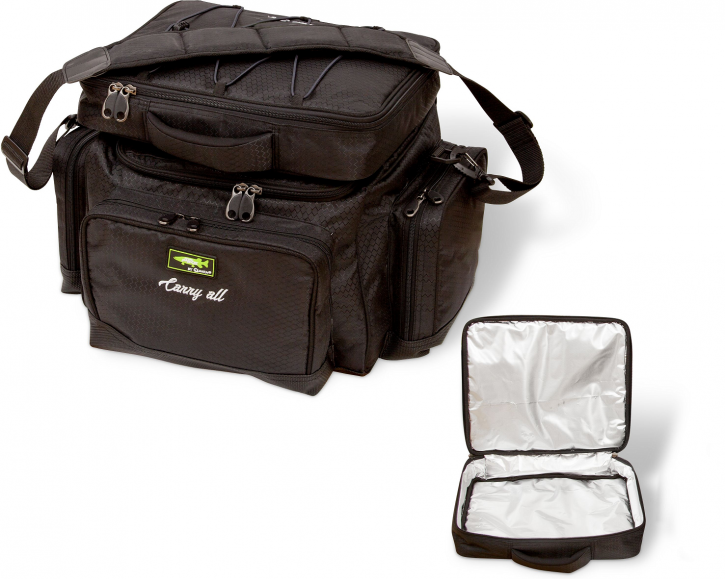 Mr. Pike Carryall + Freezer Bag schwarz