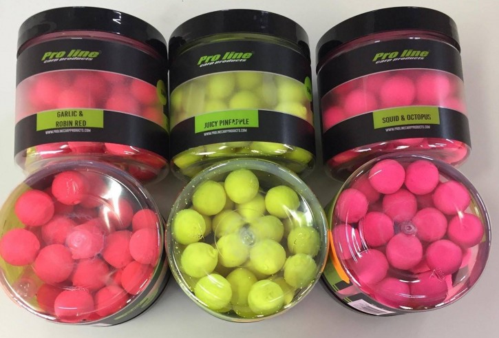 Pro Line Fluor Pop Ups - Garlic & Robin Red