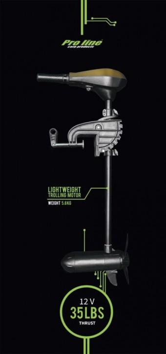 Proline Lightweight Trolling E-Motor 12 V 35 lb