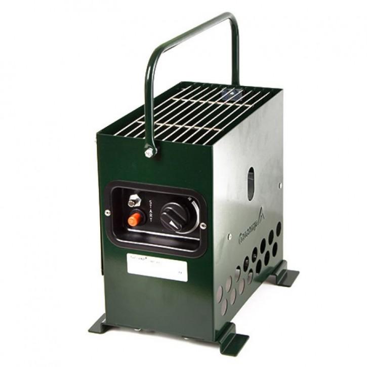 Gazcamp Heatbox 2000 Grün Zeltheizung 50mbar