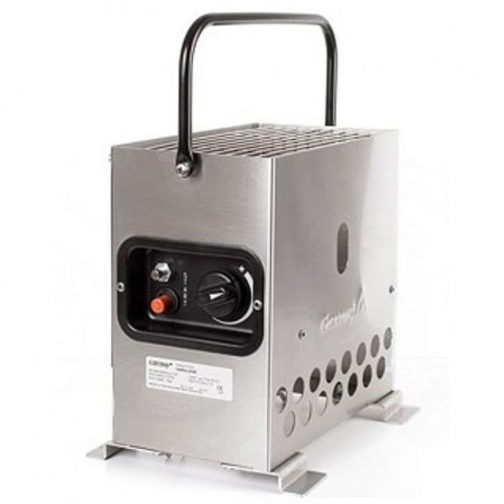 Gazcamp Heatbox 2000 Edelstahl Zeltheizung 50mbar