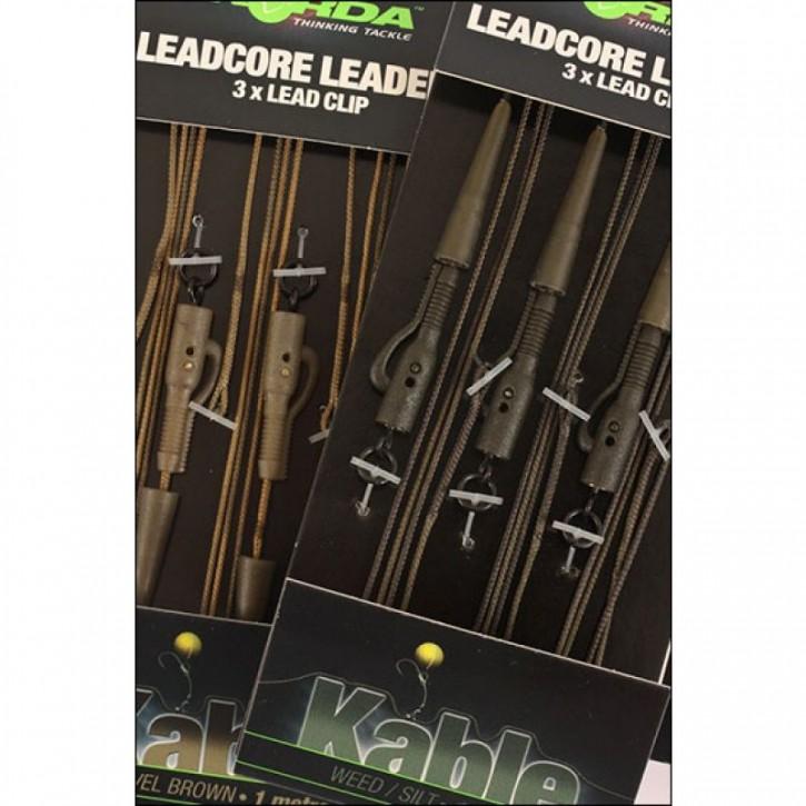 Korda Leadcore Leader Clip - Gravel