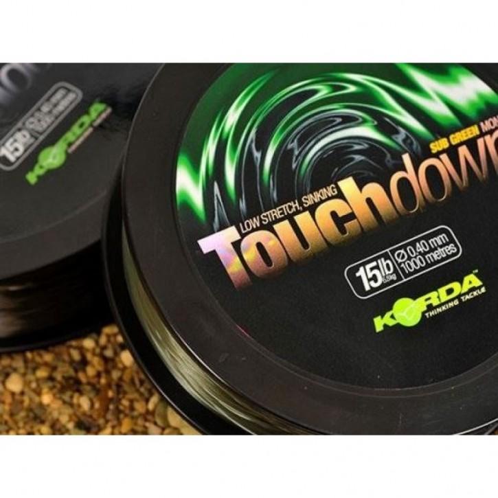 Korda Touchdown Green 15lb 0,40mm - 1000m