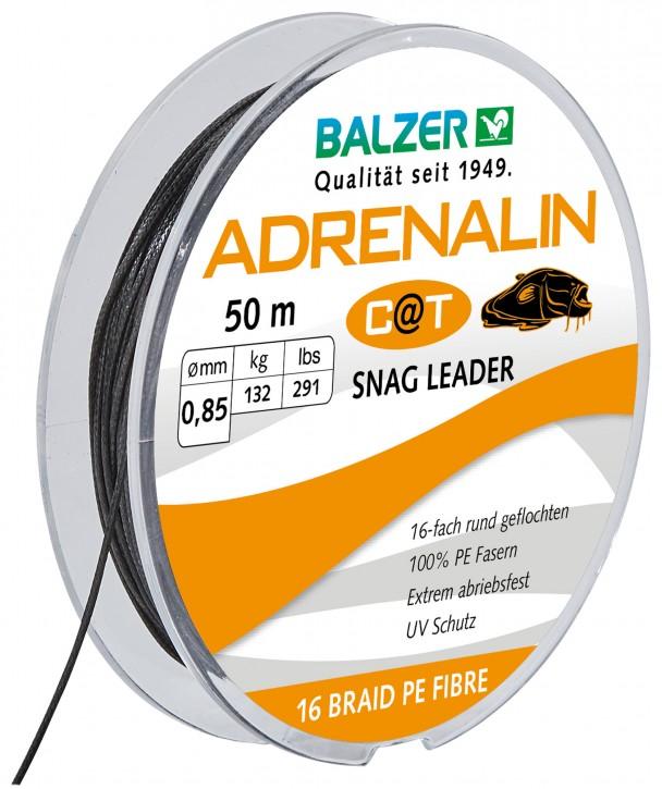 Balzer Adrenalin Cat Schlagschnur 50m 0,85mm 132kg schwarz