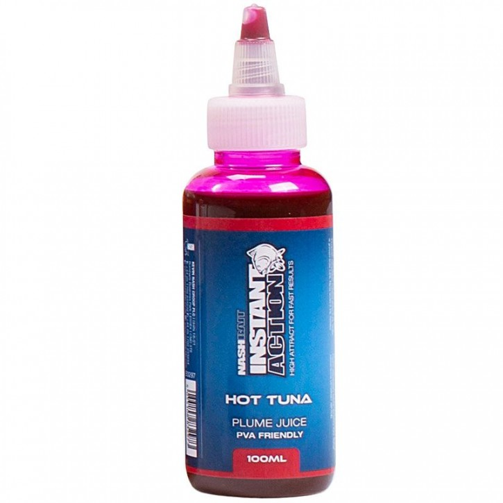 Nash Instant Action Hot Tuna Plume Juice 100 ml