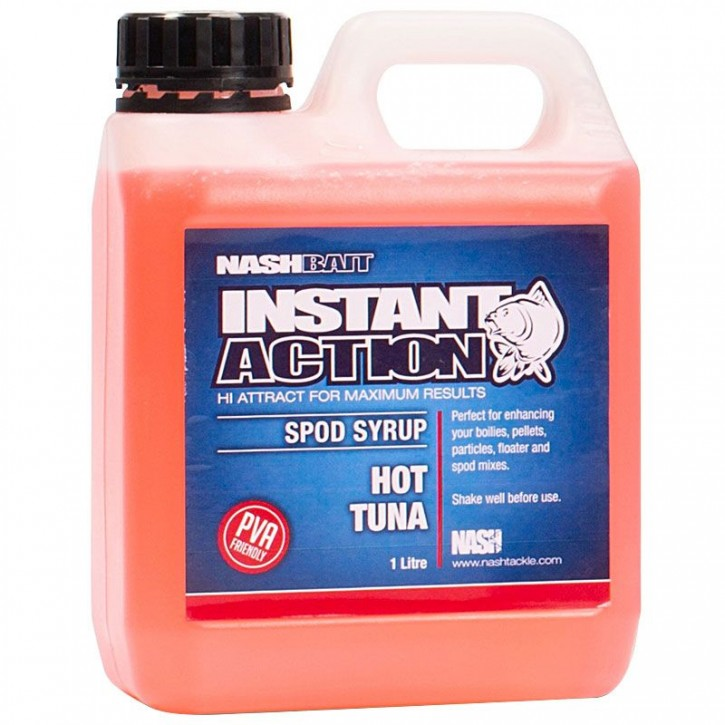 Nash Instant Action Hot Tuna Spod Syrup 1 l