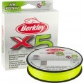 Berkley X5 Braid Flame Green 300m 0.08mm 7,6kg