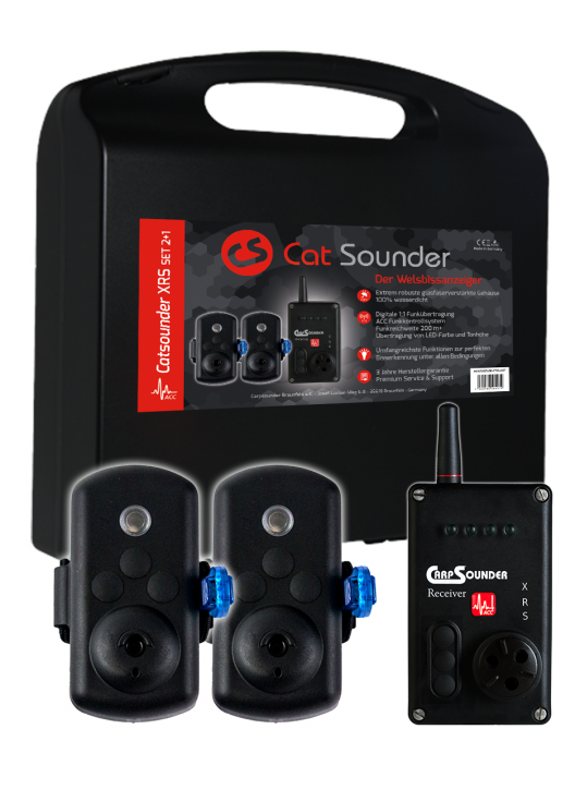 Cat Sounder XRS 2+1 Set - ACC Kompatibel