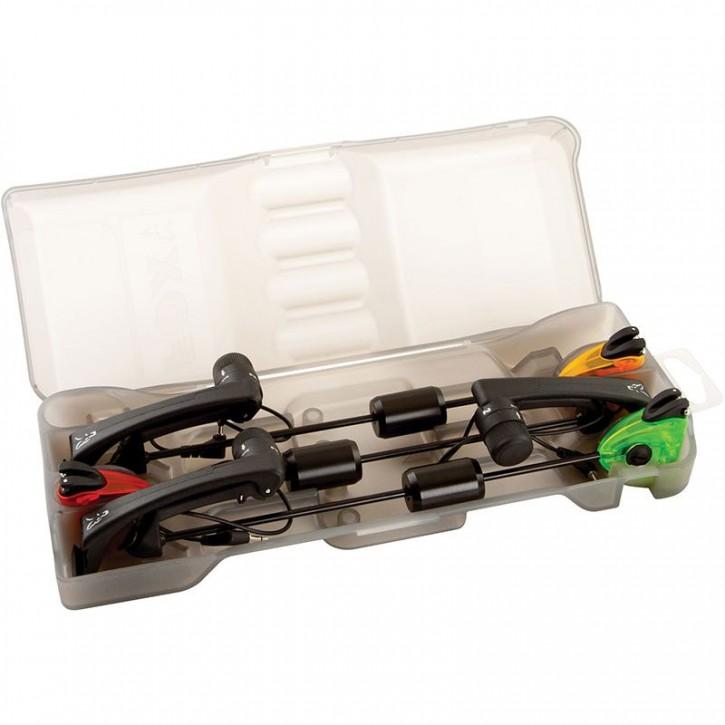 FOX Euro MK2 Swinger Set Black - 3 Rod Limited Edition