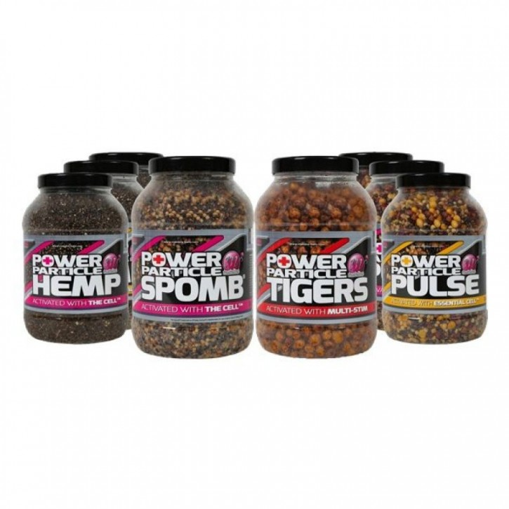 Mainline Baits Power Particles Tigers with added Multi-Stim - 3L