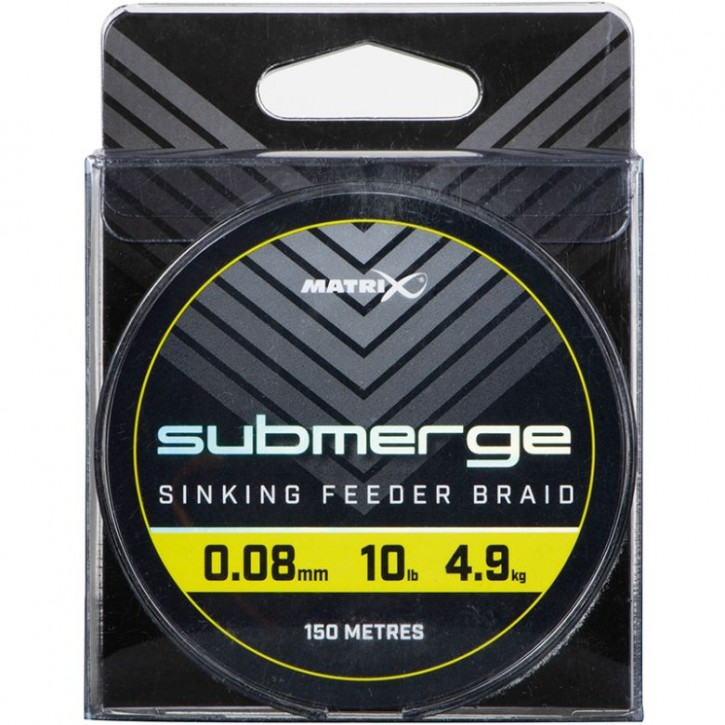 Matrix Submerge Sinking Feeder Braid 150 m 0,12 mm 17 lb 8,0 kg