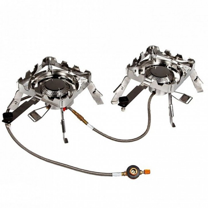 RidgeMonkey Quad Connect Stove Full Set