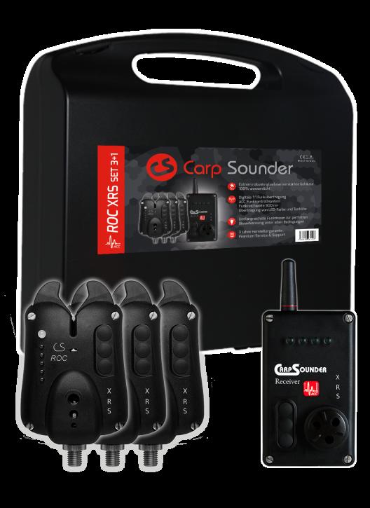Carp Sounder ROC XRS ACC 3+1 Set im Koffer