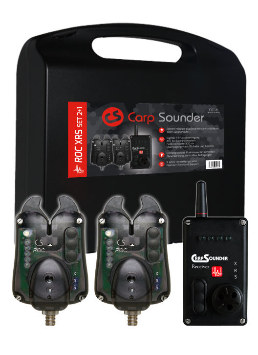 Carp Sounder ROC XRS NEON BLACK ACC 2+1 Set