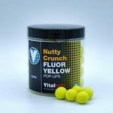 Vitalbaits PopUps Fluor Yellow NuttyCrunch 18 mm