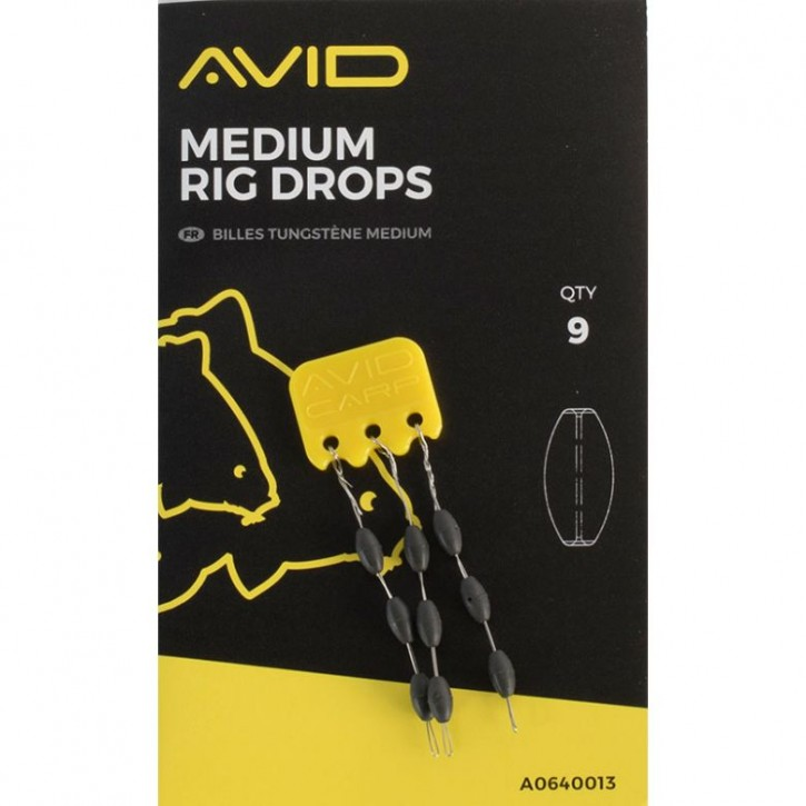 Avid Carp Outline Rig Drops - Medium