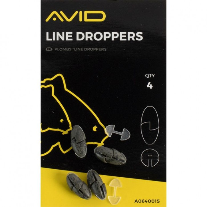 Avid Carp Outline Line Droppers