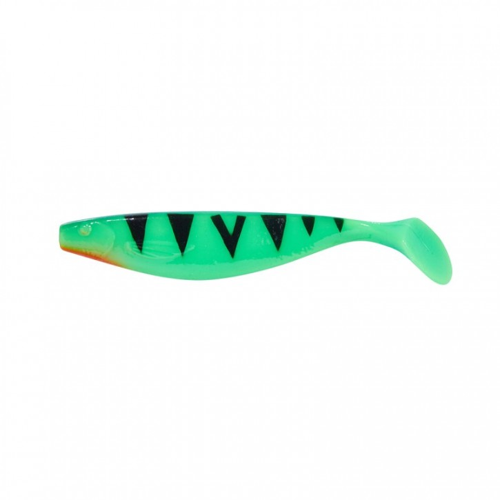 Balzer Shirasu MaJo Booster Green Fire Tiger uv-aktiv - 17cm