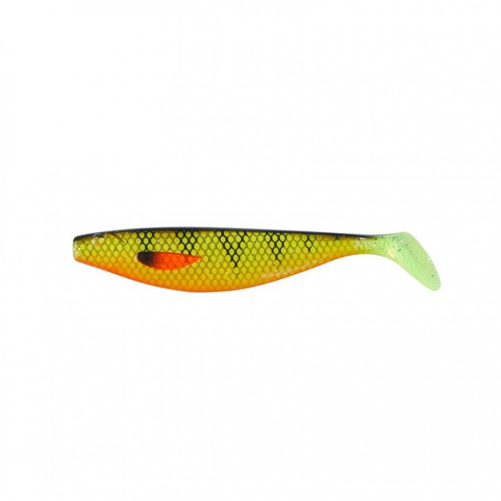 Balzer Shirasu UV Booster Shad Perch uv-aktiv - 10cm