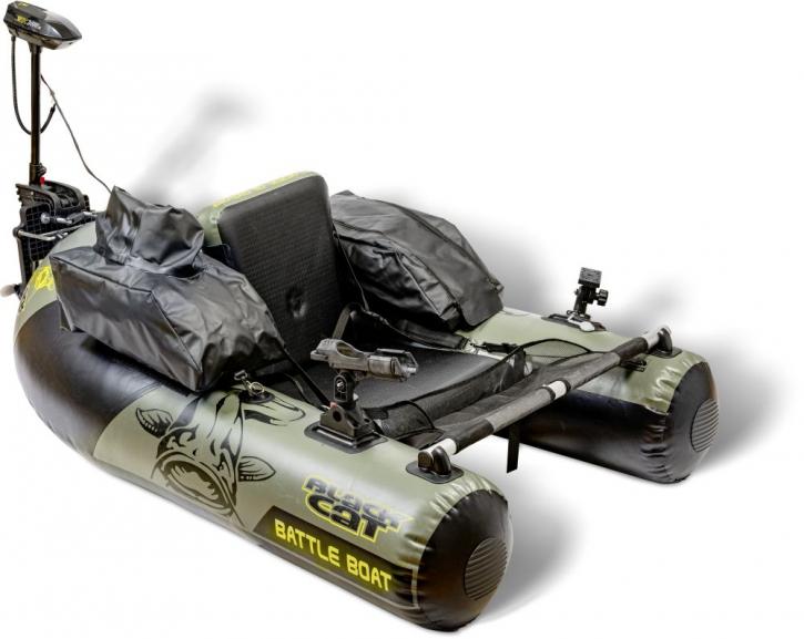 Black Cat Battle Boat Belly Boot Set