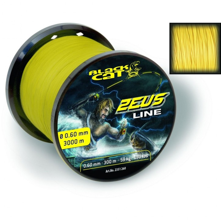 Black Cat Zeus Line - 0,45mm - 3000m
