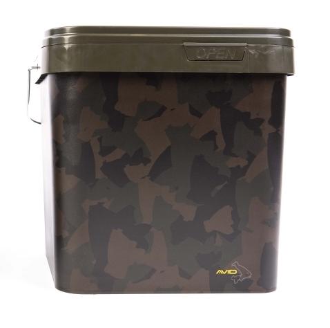 Avid Carp Camo Bucket - 17 Liter