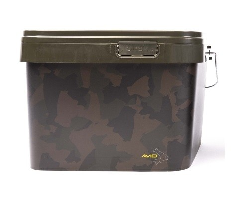 Avid Carp Camo Bucket - 10 Liter