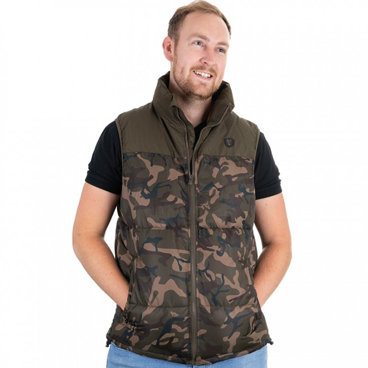 Fox Camo/Khaki RS Gilet  - L
