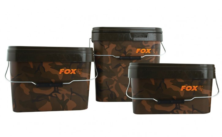 Fox Camo Square Bucket - 10 Liter