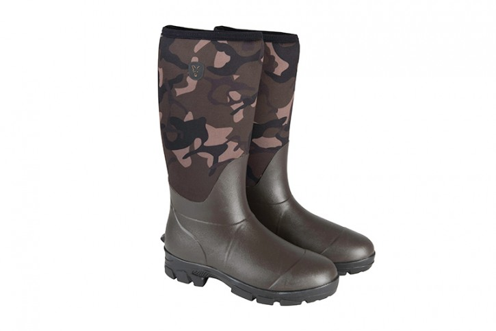Fox Camo Neoprene Boots - 46