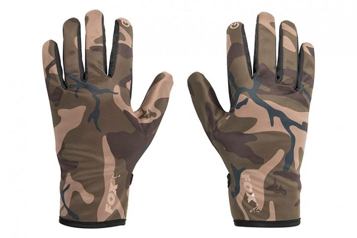 Fox Camo Thermal Camo Gloves - M