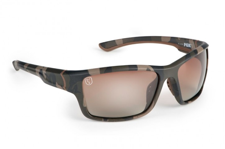 Fox Avius Wraps - Camo Frame/Brown Gradient Lens