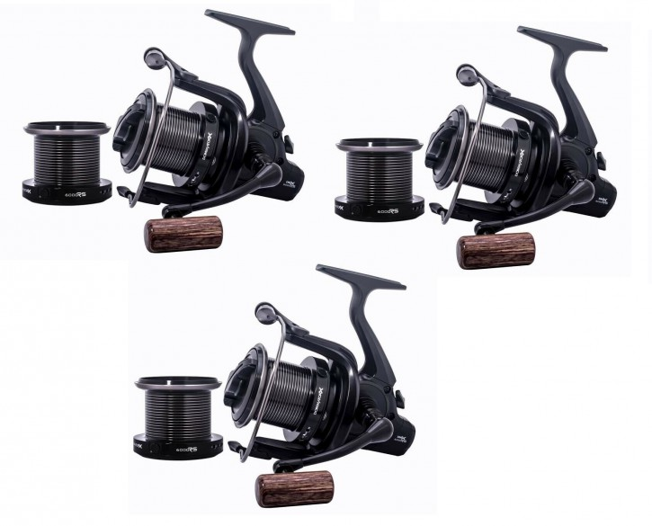 Sonik Dominator X 8000 RS Big Pit Reel - 3er SET