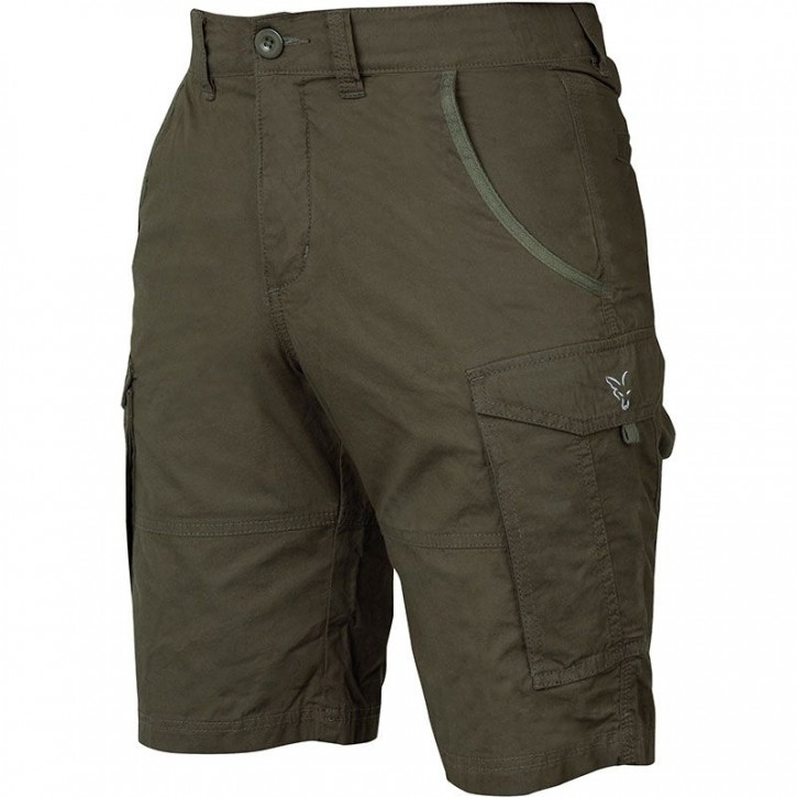 FOX Collection Green/Silver Combat Shorts L