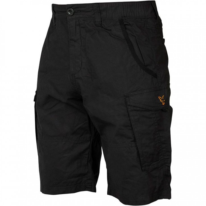 FOX Collection Black/Orange Combat Shorts L