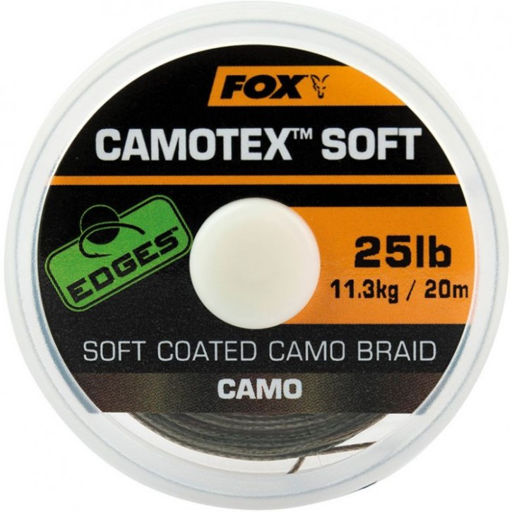 FOX Edges Camotex Soft Coated Camo Braid 20 m 25 lb