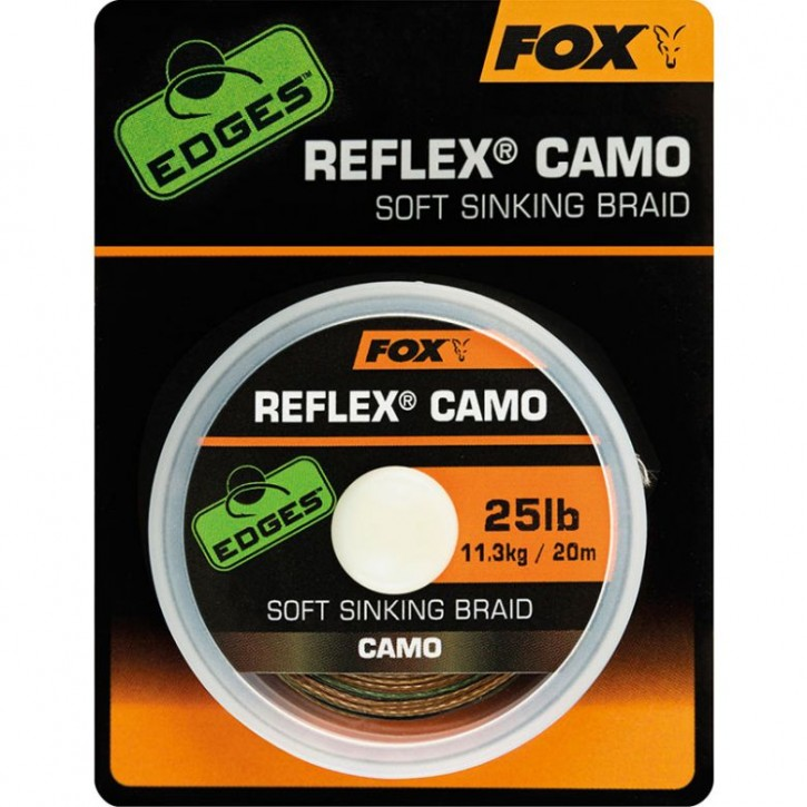 FOX Edges ReflexCamo Soft Sinking Braid 20 m 25 lb