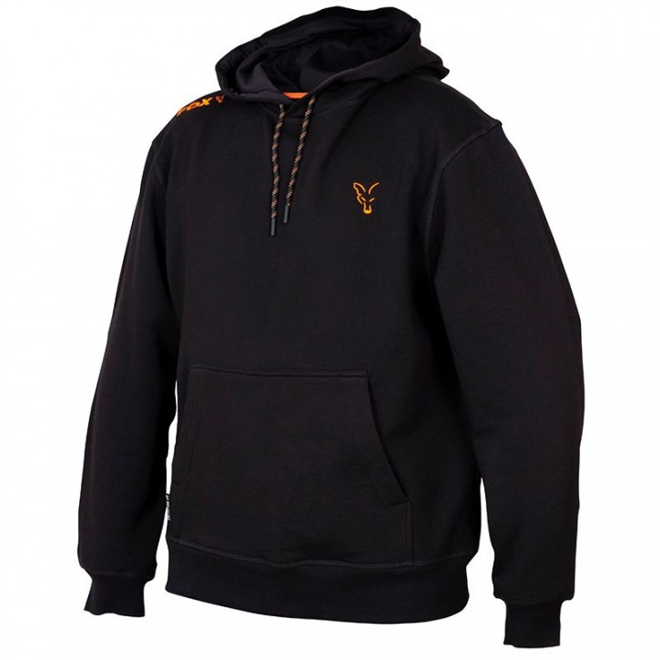 FOX Collection Black/Orange Hoodie - L