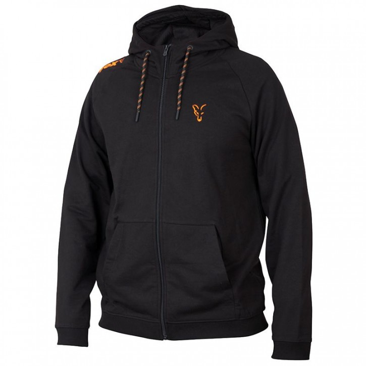 FOX Collection Black/Orange LW Hoodie - XL