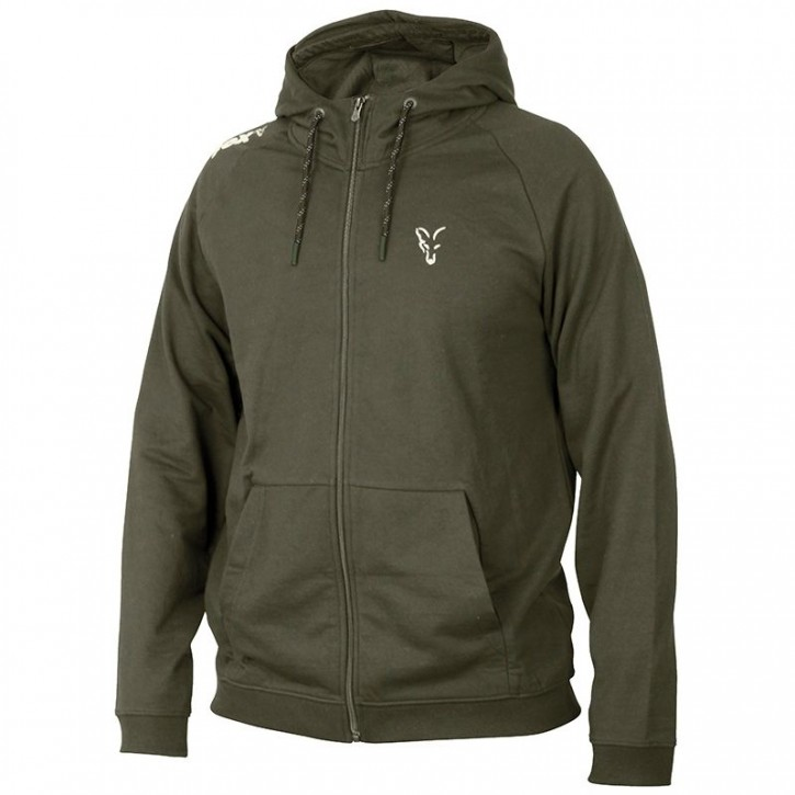 FOX Collection Green/Silver LW Hoodie - XXL