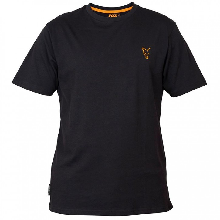 FOX Collection Black/Orange T- Shirt - S