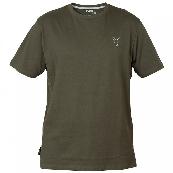 FOX Collection Green/Silver T- Shirt - XL