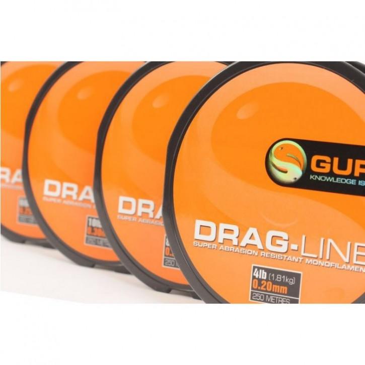 Guru Drag Line 250 m - 4 lb - 0,20 mm