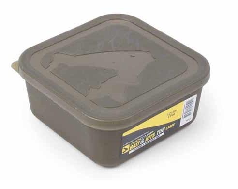Avid Carp Bait & Bits Tub Large 1,2 Liter mit Einsatz