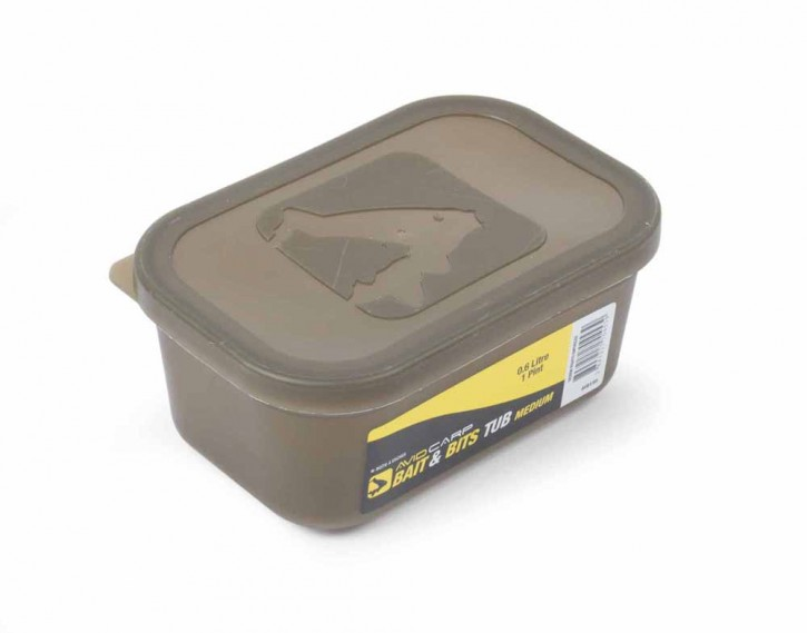 Avid Carp Bait & Bits Tub Medium 0,6 Liter